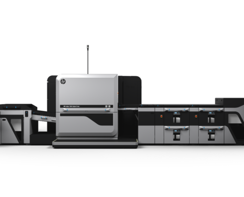 The new HP Indigo 100 L Digital Press