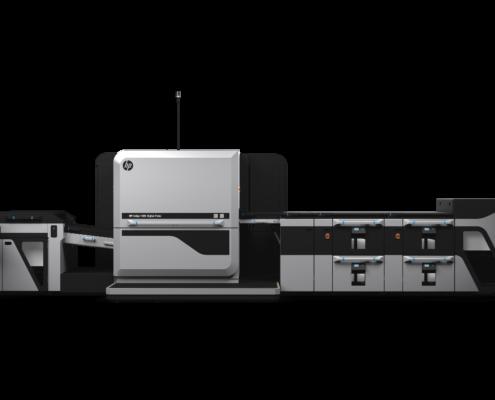 The new HP Indigo 100 L Digital Press